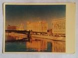 """""""Москва. Смоленская набережная"""", 1955г., фото №2"""