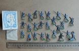 Солдатики оловянные - Heinrichsen - немец. пехота., фото №2