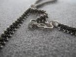 Серебряное ожерелье (серебро 925 пр, вес 18 гр), фото №5