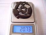 Збруйная бляшка в зверином стиле, фото №3