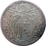 1 скудо 1800 Ватикан, срібло, фото №2
