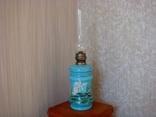 Старинная керосиновая лампа, фото №2