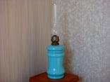 Старинная керосиновая лампа, фото №5