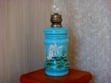 Старинная керосиновая лампа, фото №6