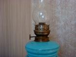 Старинная керосиновая лампа, фото №8