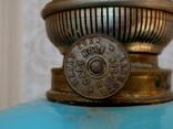 Старинная керосиновая лампа, фото №9