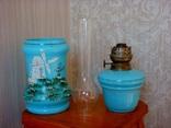 Старинная керосиновая лампа, фото №10