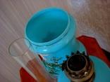 Старинная керосиновая лампа, фото №11