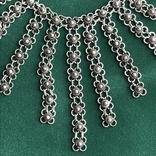Серебряное колье 35,88 грамм, фото №5