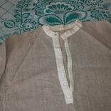 Сорочка чоловіча заготвка льон, фото №3