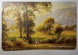 Старинная английская открытка, фото №2