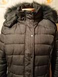 Куртка теплая зимняя JEAN PASCALE p-p L, фото №6
