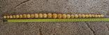 Янтарные бусы 108 грамм., фото №12