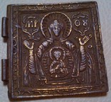 Половинка складня Знамение Божья Матерь, фото №2