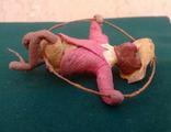 Ялинкова прикраса: Циркова мавпа, вата, 30-40-ві рр., фото №4