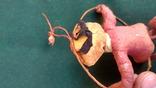 Ялинкова прикраса: Циркова мавпа, вата, 30-40-ві рр., фото №6