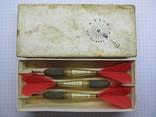 Дротики для дартс в родной коробке, Англия, фото №6