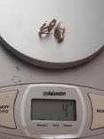 Серьги золото 4 грм. 700грн /за грамм, фото №6