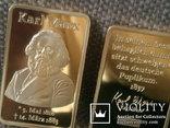 Слиток Карл Маркс реплика, фото №7