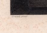 Старинная гравюра. 1860 годa. Савонарола. Пейн. (26,5х19,5см.)., фото №5