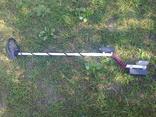 Импульсный металлоискатель Кощей 4И с противоударной катушкой 200 мм на батарейках