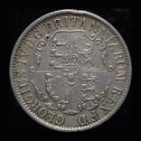 Британская Вест Индия 1/4 доллара 1822 аUnc серебро, фото №3