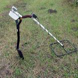 Импульсный металлоискатель Кощей Квадро с катушкой 38х38 см. на аккум. (цеховая штанга)