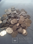 Монеты Украинские 5 копеек 228 шт одним лотом 1992г, фото №2