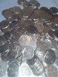 Монеты Украинские 5 копеек 228 шт одним лотом 1992г, фото №7