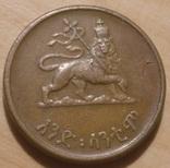 Эфиопия 1 цент 1936-1944, фото №2