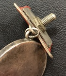 Медаль За отвагу № 119162 (квадро колодка), фото №8