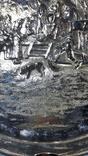 Пепельница/Европа/Барильеф/Серебрение/Клеймо, фото №7