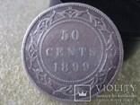 50 центов 1899г.  Ньюфаунленд, фото №2