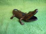 Пепельница Крокодил, фото №6