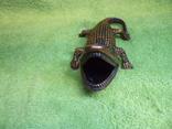 Пепельница Крокодил, фото №7