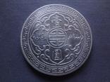 1 торговый доллар 1912 Великобритания  серебро  (Ж.3.16)~, фото №4