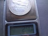 1 торговый доллар 1912 Великобритания  серебро  (Ж.3.16)~, фото №6
