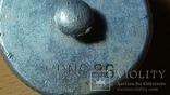 Крышка от Немецкой Фляги ( 36 год ) с родной резинкой, фото №4