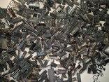 Микросхемы ДИП Проверенные на Жёлтый Лом 1.8кг, фото №10