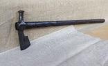 Хазарский топор, чекан, вес 130 гр., фото №3