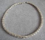 Серебряное ожерелье (серебро 925 пр, вес 29 гр), фото №2