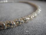 Серебряное ожерелье (серебро 925 пр, вес 29 гр), фото №6