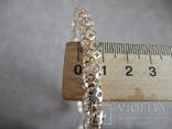 Серебряное ожерелье (серебро 925 пр, вес 29 гр), фото №7