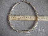 Серебряное ожерелье (серебро 925 пр, вес 29 гр), фото №8