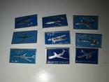 Набор значков авиация #3. 1, фото №2