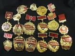 Значки на разную тематику 100 шт., фото №3