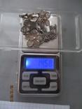Колье филигрань, серебро.винтаж, фото №10