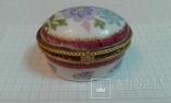 Фарфоровая шкатулочка ---ручная роспись, фото №6