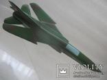 Модель истребителя МиГ ручной работы времён СССР., фото №3