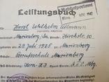 Шитый спортивный знак RJA с документом. Спортивный знак молодежи Рейха (RJA), фото №9